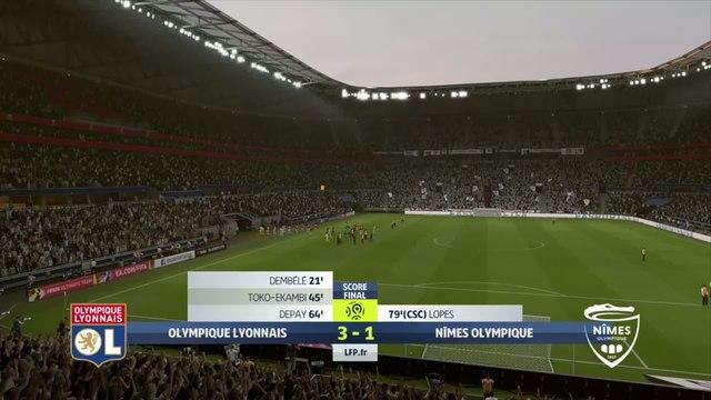OL - Nîmes : notre simulation FIFA 20 (L1 - 4e journée)