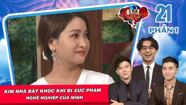 Diễn viên Kim Nhã bật khóc khi bị gia đình người yêu xúc phạm nghề nghiệp