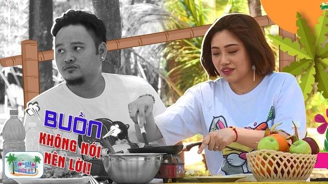 Vinh Râu cắn răng ăn bánh xèo cháy khét vì khả năng nấu nướng vô đối của Lương Minh Trang