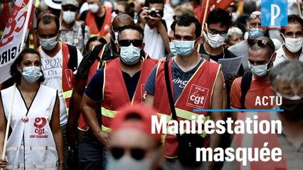 Paris  : plusieurs milliers de manifestants contre les suppressions d'emploi
