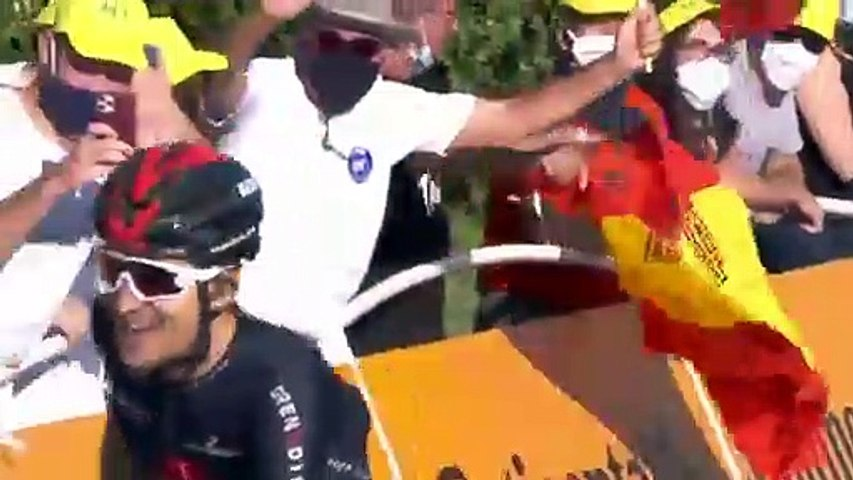 Cycling - Tour de France 2020 - Michal Kwiatkowski wins stage 18