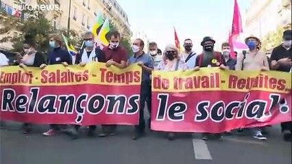 France : des milliers de manifestants dénoncent les suppressions d'emplois liées au Covid-19