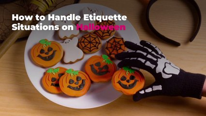 How to Handle Etiquette Situations on Halloween