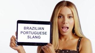 Singer Anitta Teaches You Brazilian Slang