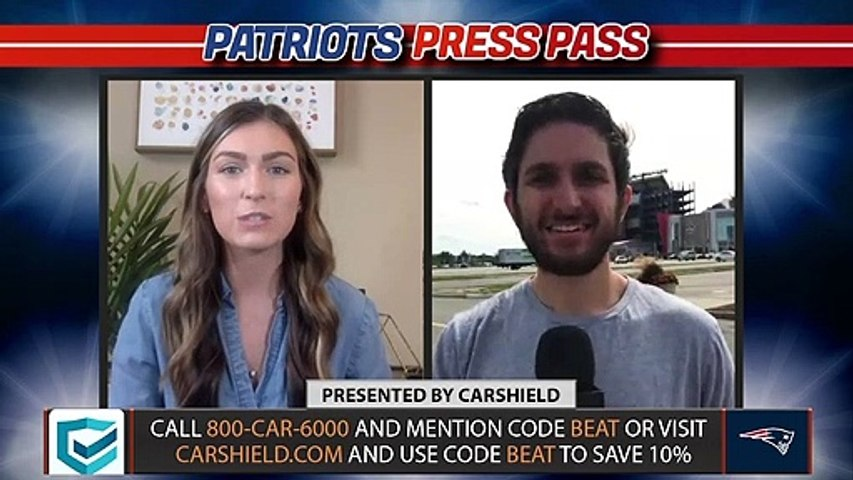 How Important is Cam Newton's Confidence in N'Keal Harry? | Patriots Press Pass
