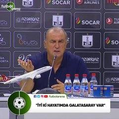 "Fatih Terim: ""İyi ki hayatımda Galatasaray var"""
