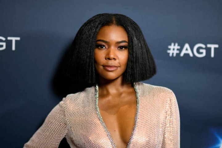 Gabrielle Union Dressed Like a '90s Heartthrob While Wearing a Surprising Face Mask