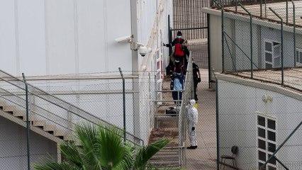 Habilitan el CITE sureño para alojar a 83 personas llegadas  en cayuco
