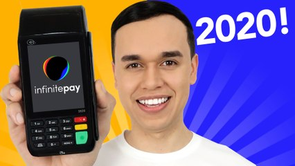 maquininha de cartão InfiniteBlack da InfinitePay