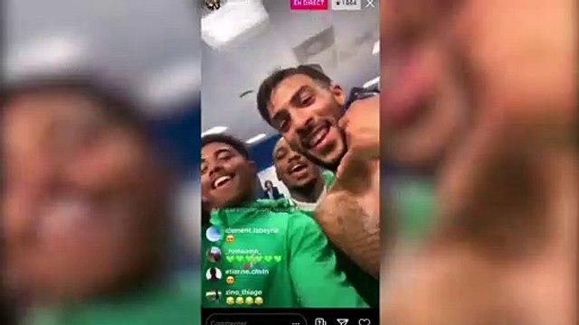 Les joueurs de Saint-Etienne trollent l'OM dans les vestiaires