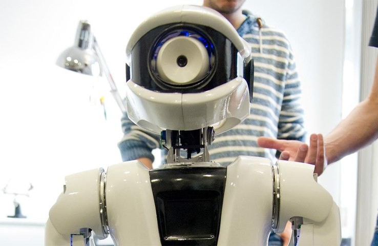 Robots boost mental health of residents in care homes