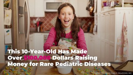 This 10-Year-Old Has Made Over $100,000 Dollars Raising Money for Rare Pediatric Diseases