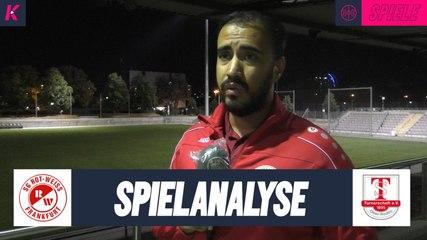 Die Spielanalyse | SG Rot-Weiss Frankfurt - TS Ober-Roden (3. Spieltag, Verbandsliga Süd) | KORREKTUR