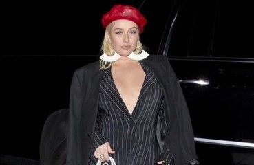 Christina Aguilera parla del bacio in bocca con Madonna