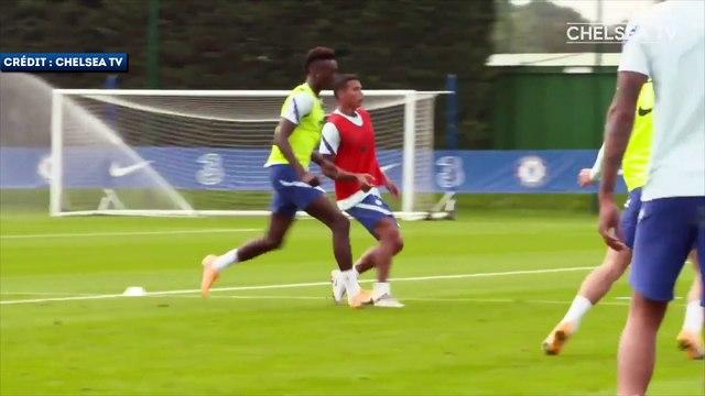Les premières images de Thiago Silva à l'entraînement de Chelsea