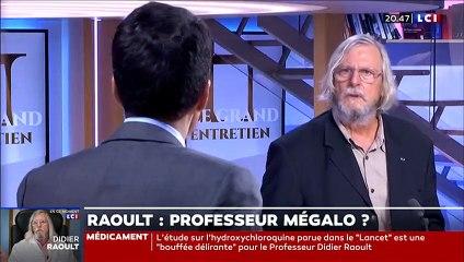 Didier Raoult sur LCI, 2020.