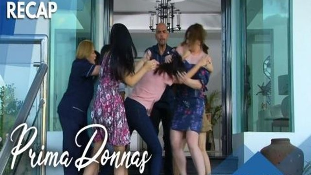 Prima Donnas: Intense catfight at the mansion   Recap Episode 23