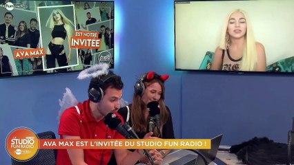 Ava Max en interview dans Le Studio Fun Radio