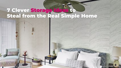 7 Clever Storage Ideas to Steal from the Real Simple Home