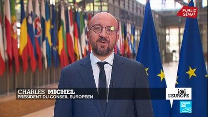 Charles Michel sur le Brexit : « Nous ne nous laisserons ni intimider, ni impressionner »