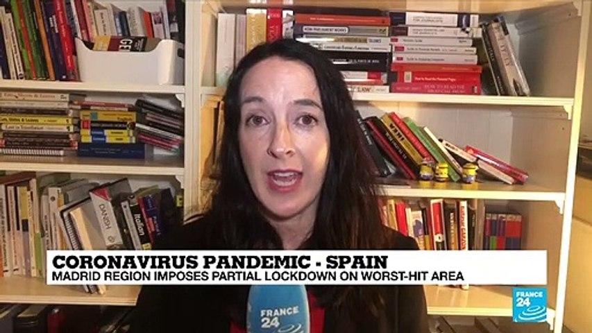 Coronavirus pandemic: Spanish capital region orders partial lockdown