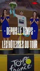 Retour sur l'histoire des hôtesses du Tour de France