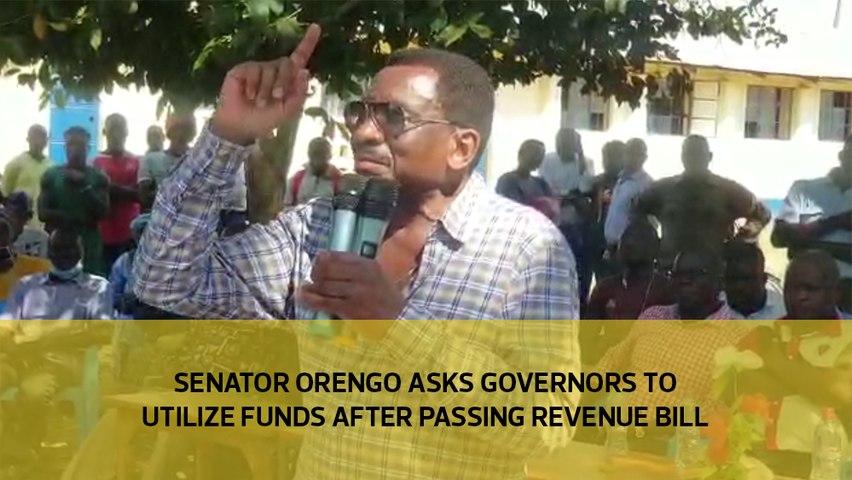 Senator Orengo asks governors to utilize funds after passing revenue bill