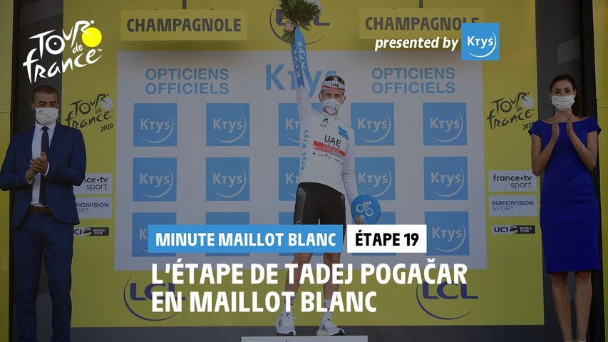 #TDF2020 - Étape 19 / Stage 19 - Krys White Jersey Minute / Minute Maillot Blanc