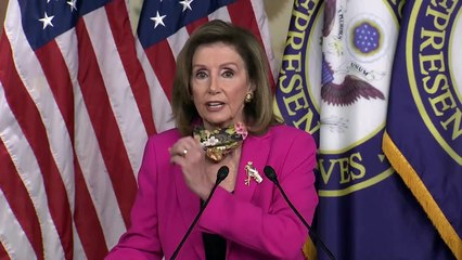 LIVE - House Speaker Nancy Pelosi gives her weekly update amid coronavirus aid negotiations