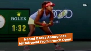 Naomi Osaka's Withdrawal