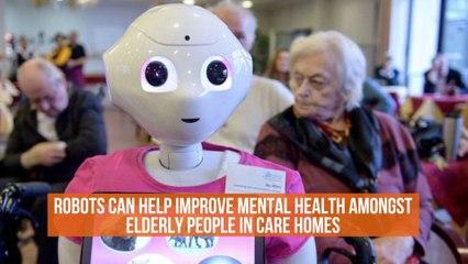 Robots Already Help The Elderly