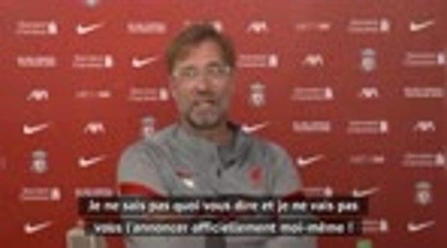 Liverpool - Klopp a gardé le secret du transfert de Thiago Alcantara jusqu'au bout