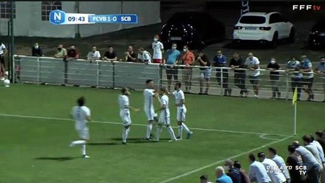 FCVB 0-3 SCB : Les buts