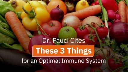 Dr. Fauci Talks Immune System
