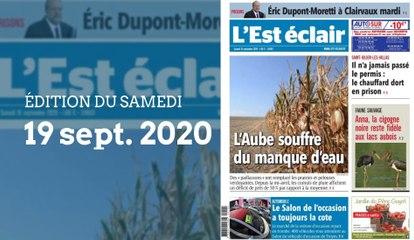 L'Est-Éclair: Sommaire de l'Édition du samedi 19 septembre 2020