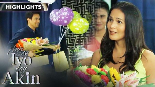 Gabriel surprises Ellice with flowers | Ang Sa Iyo Ay Akin