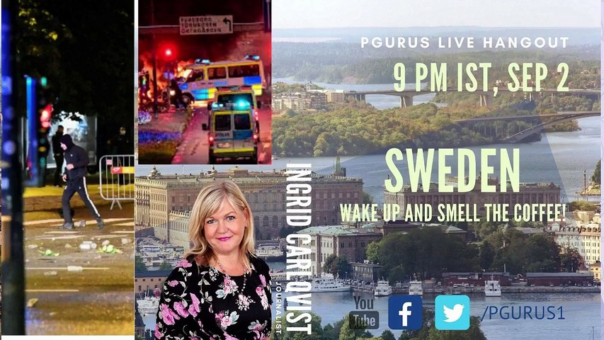 Sweden - Wake up and smell the COFFEE! with Swedish journalist Ingrid Carlqvist