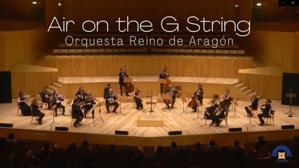 Orquesta Reino de Aragón - Bach: Air on the G String