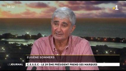 Eugène Sommers est le nouveau président du CESEC