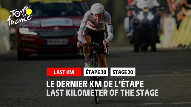 #TDF2020 - Étape 20 / Stage 20 - Flamme Rouge / Last Kilometer