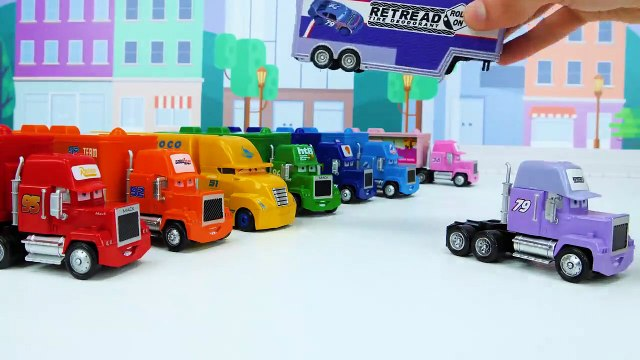 Best Toddler Learning Videos for Kids - Learn Colors with Trucks and Race Cars