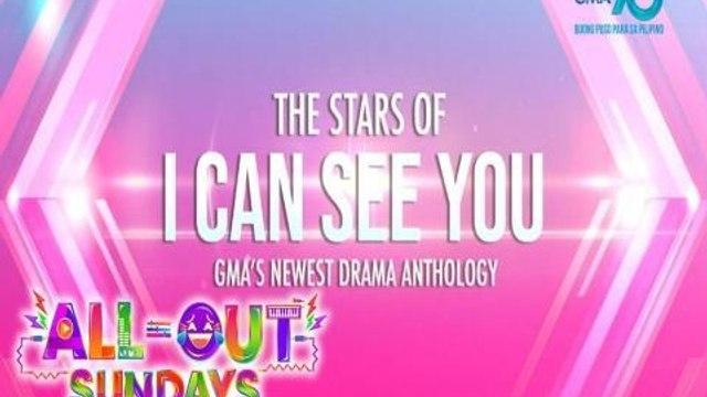 All-Out Sundays Samahan ang cast ng 'I Can See You' at Spongecola   Teaser