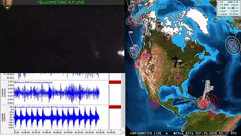 MAJOR increase in tremor along cascadia subduction zone 9-13-2020 Earthquake update…