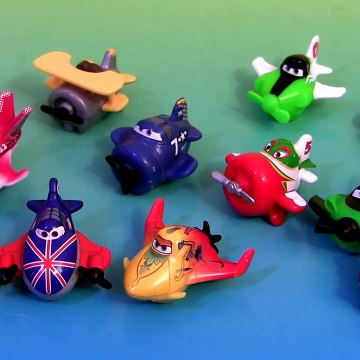 Disney Planes MicroDrifters Rochelle, Dusty, Chupacabra Airplanes Mattel World Above Pixar Cars