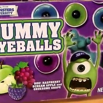 Gummy Eyeballs Monsters University Halloween Disney Pixar Monsters Inc. 2 Scare Candy