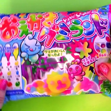 How to make Gummy Animals at Home Edible Candy Making Kit DIY by Kracie  グミキャンディーキット