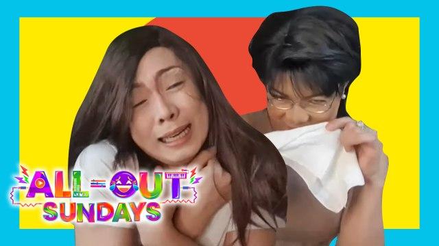 All-Out Sundays: Glydel Mercado, hindi na-feel ang emosyon ni Ate Velma!