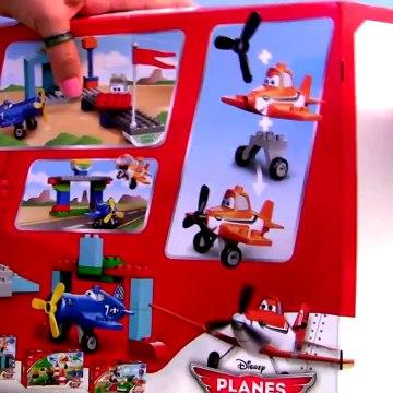 LEGO Duplo Planes Skipper Flight School 10511 Disney Airplanes Dusty Sparky World Above Cars