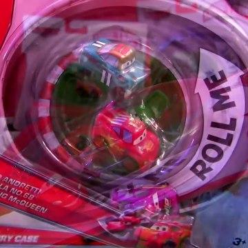 Micro Drifters Carry Case Radiator Springs Snot Rod, WINGO, Ramone Disney Cars 2 Display Pixar