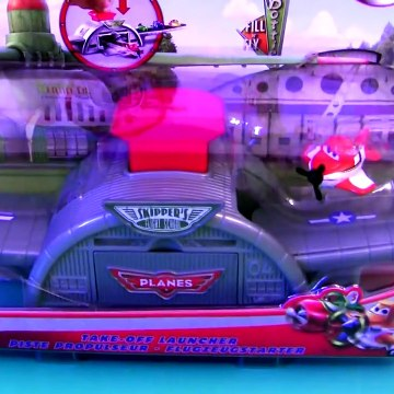 Micro Drifters Take-Off Launcher Playset Disney Disney Cars Planes Toys Review by Disneycollector